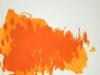 Traces oranges / 46 x 56,5 cm / 2003