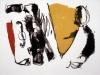 NJR (noir jaune rouge) / 50 x 65 cm / 1993