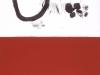 Cercle, rouge / 76 x 114 cm / 2004