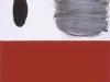 Le témoin, rouge / 56 x 98 cm / 2004