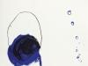 Petite forme bleue / 31 x 25 cm / 2019