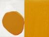 Forme jaune / huile / 2017